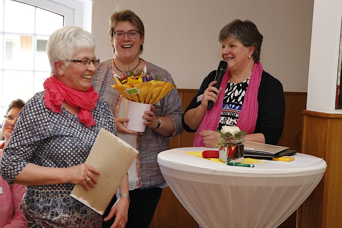 Verabschiedung der langjährigen Ortsvertrauensfrau Gertrud Meyer