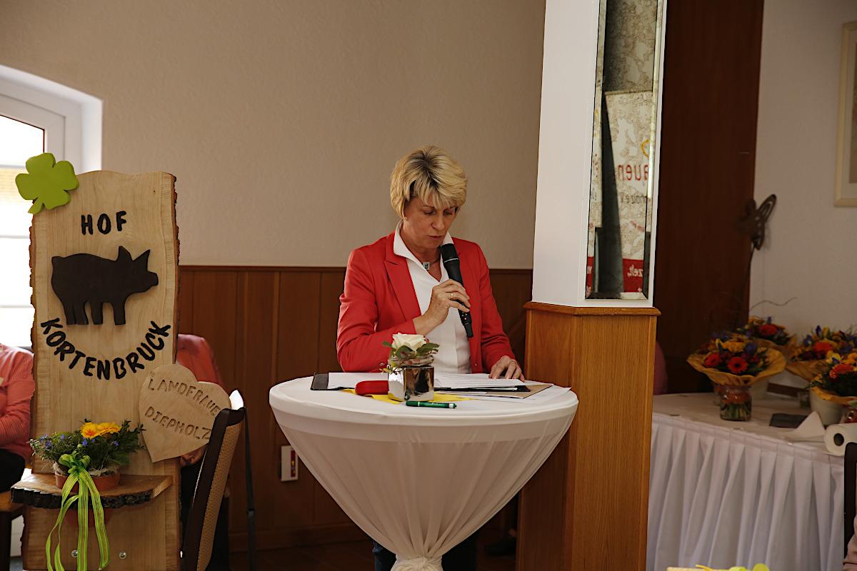 Kerstin Melfsen vom Kreisverband